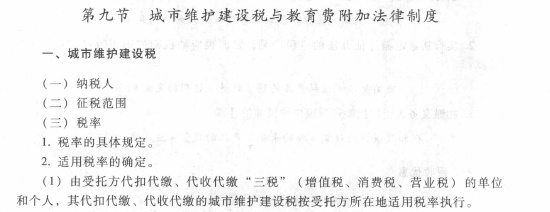 经济法基础第六章第九节